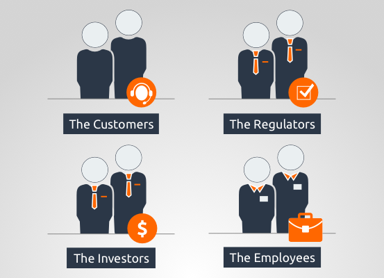 The 4 most Important Stakeholders of Your Field Service Organisation