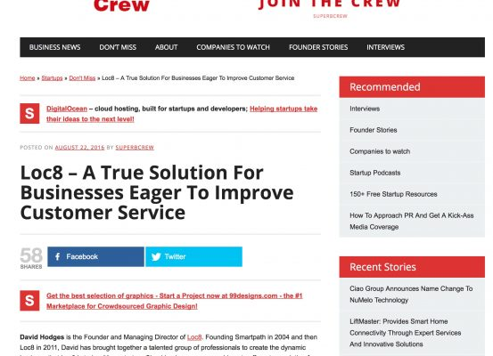SuperbCrew – Loc8: A True Solution For Businesses Eager To Improve Customer Service