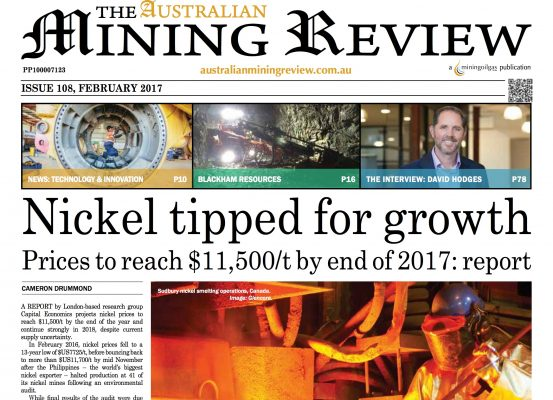 The Australian Mining Review – The Interview Feb 2017 (Page 78)