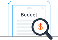 Loc8 icon Advanced budgeting tools