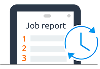 Smart and compelling work reports