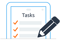 Task and sub task tool
