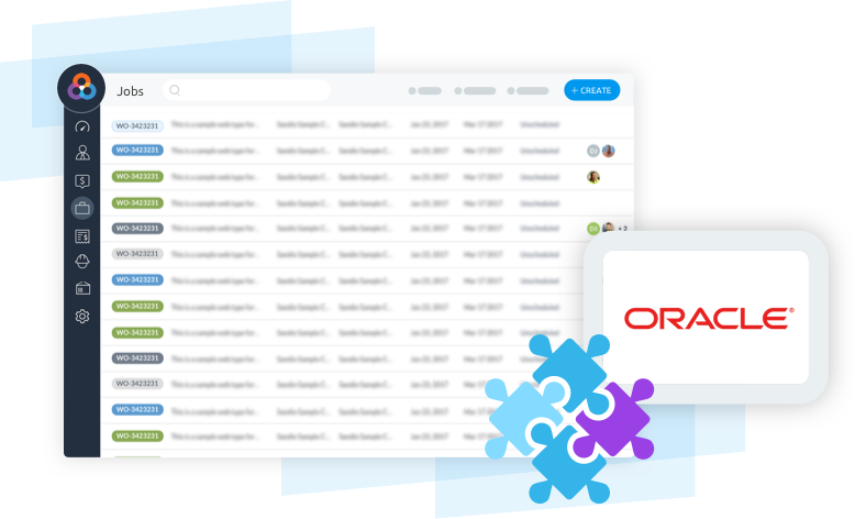 Oracle Integration with Loc8