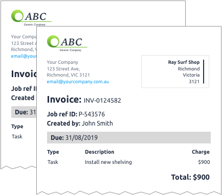 Invoicing software - Professional invoices