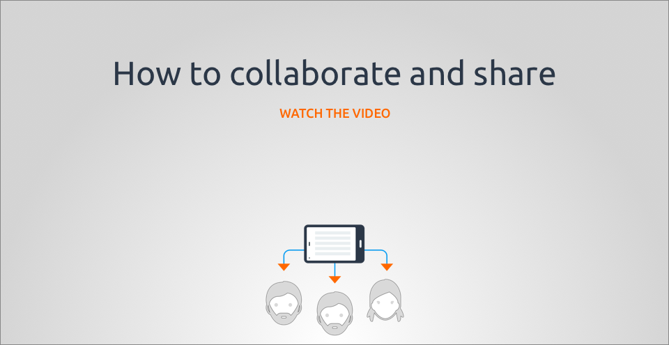 How to collaborate and share