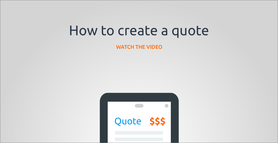 How to create a quote