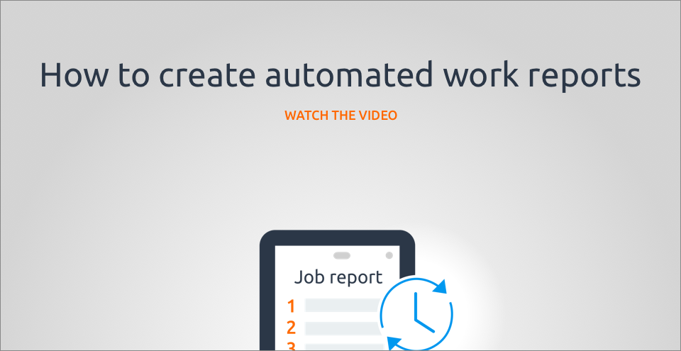 How to create automated work reports