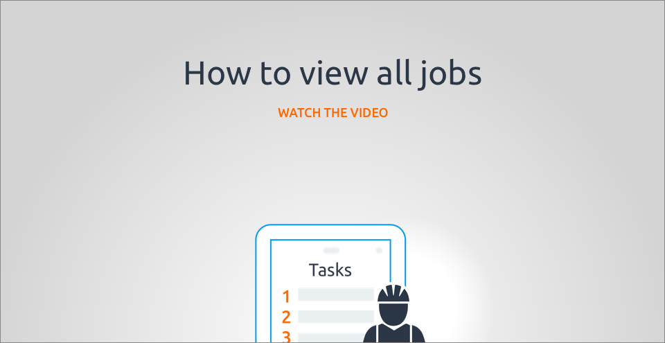 How to view all jobs