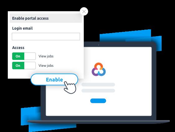 Customer communication customer portal